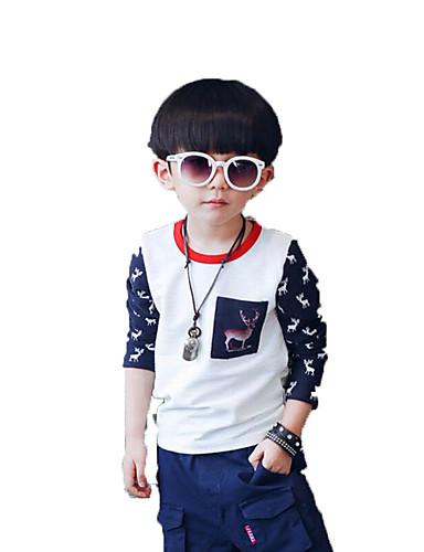 f6b0f7b858ae Αγόρια Κοντομάνικο   Μπλούζα με Κουκούλα   Φούτερ Καθημερινά Βαμβάκι    Πολυεστέρας Στάμπα Άνοιξη   Φθινόπωρο Λευκή  05189982