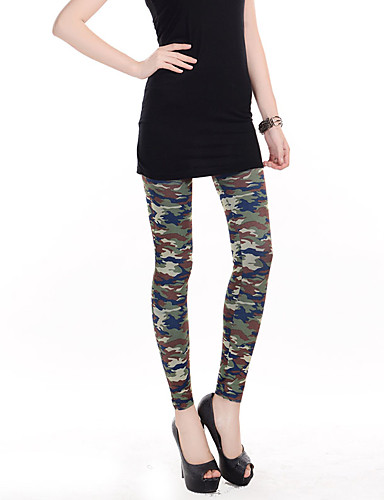 Vrouw Print Legging,Polyester Spandex