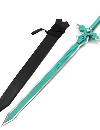 cheap Anime Cosplay Swords-Cosplay Accessories Inspired by SAO Alicization Kirito / Elucidator / Lambent light Anime Cosplay Accessories Wood Men's Hot 855