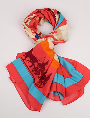 ヴィンテージ / カジュアル シルク スカーフ