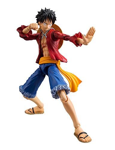 billige Anime Cosplay Tilbehør-Anime Action Figurer Inspirert av One Piece Monkey D. Luffy Anime Cosplay-tilbehør figur PVC