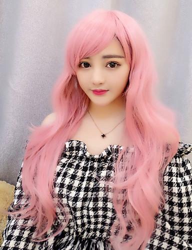 voordelige Cosplay Pruiken-Lolita Pruiken Schattig Blozend Roze Lolita Lolitapruik 28 inch(es) Cosplaypruiken Pruiken Halloweenpruiken