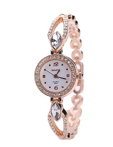 Mulheres Relógio de Moda / Relógio de Pulso Lega Banda Prata / Dourada