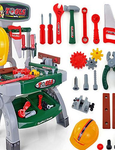 voordelige Speelgoedgereedschap-Speelgoedgereedschap / Gereedschapskisten Noviteit / Veiligheid Muovi Jongens Kinderen Geschenk
