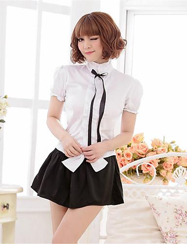 Damen Übergrössen Sexy Anzüge Uniformen & Cheongsams Besonders sexy Nachtwäsche - Schleife