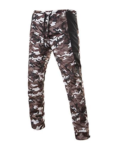 Pánské Aktivní strenchy Kalhoty chinos Tepláky Kalhoty Volné Rovné Mid Rise maskování