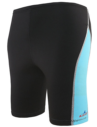 cheap Wetsuits, Diving Suits & Rash Guard Shirts-Bluedive Men's Wetsuit Shorts 1.8mm Neoprene Bottoms Thermal / Warm Quick Dry Swimming Diving Surfing Patchwork
