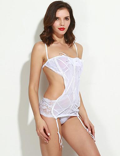 Damen Sexy Besonders sexy Nachtwäsche Solide