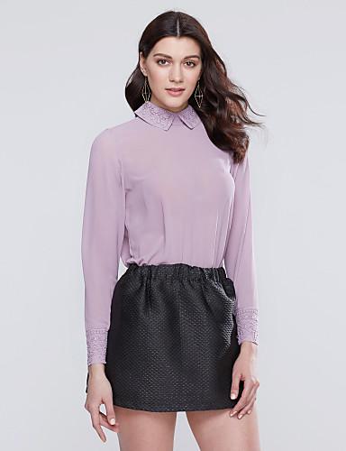 Women's Daily Casual Spring Summer Fall Shirt