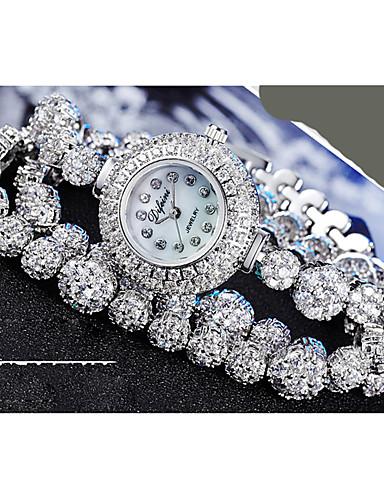 voordelige Armband Horloge-Dames Armbandhorloge Kwarts Legering Band Wit
