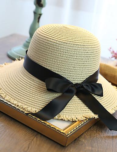 قبعة الماصة قبعة شمسية سادة جميل للمرأة