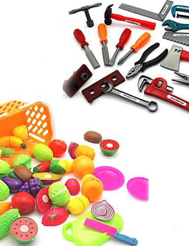 voordelige Speelgoedgereedschap-Bouwgereedschap Speelgoedeten Doen alsof-spelletjes Jongens Veiligheid Simulatie Kinderen