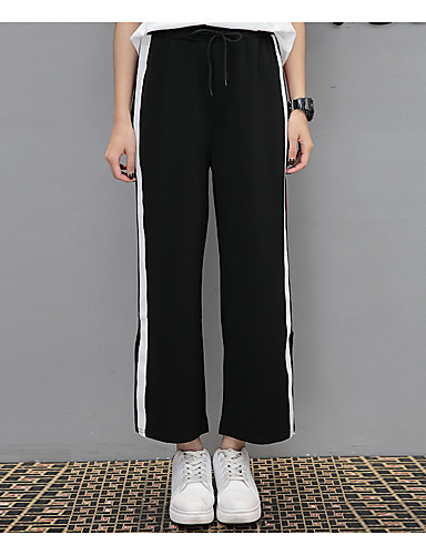 e9506dd2af6c8 Women s High Rise strenchy Wide Leg Chinos Pants