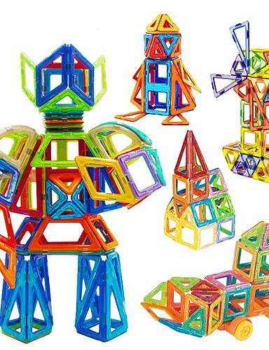 povoljno Igračke i hobiji-Magnetski blok Magnetske pločice Kocke za slaganje 31 48 98 109 pcs Automobil Roboti Ferris Wheel kompatibilan Legoing S magnetom Noviteti Dječaci Djevojčice Igračke za kućne ljubimce Poklon