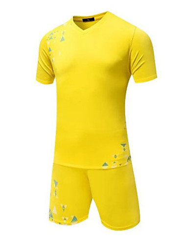 9366bd06b Unisex Soccer Top Breathable Wearable Comfortable Football / Soccer Solid  Colored Yellow Red Light Blue