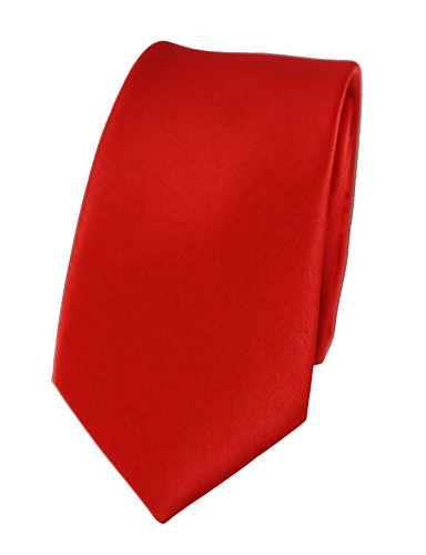 cheap Men's Ties & Bow Ties-Men's Party / Work Necktie - Solid Colored