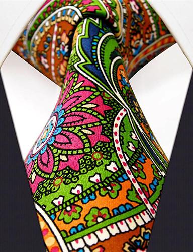 עניבת צווארון - פרחוני / דפוס / סרוג עבודה / בסיסי בגדי ריקוד גברים