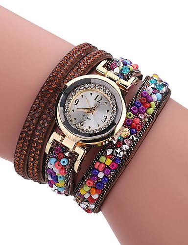 Women's Bracelet Watch Creative / Cool PU Band Charm / Luxury / Casual
