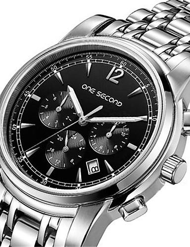 Pánské Módní hodinky mechanické hodinky Automatické natahování Kalendář Voděodolné Slitina Kapela Stříbro