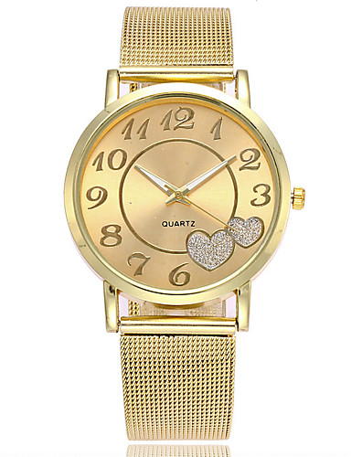 Women's Wrist Watch Japanese Casual Watch Alloy Band Charm / Casual / Fashion Silver / Gold / One Year / SSUO LR626
