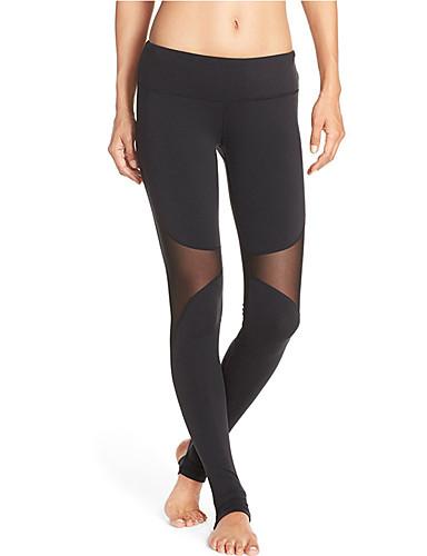 Damen Sexy Aktiv Mittlere Hüfthöhe Mikro-elastisch Aktiv Schlank Hose,Reine Farbe einfarbig