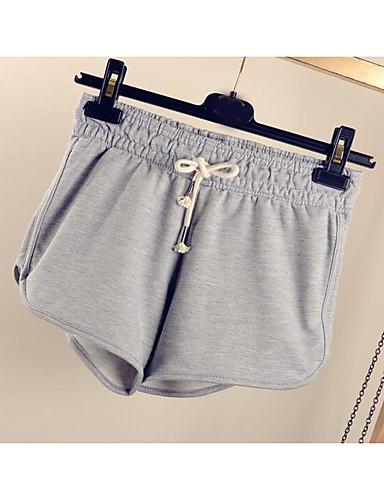 Dámské Aktivní Volné Tepláky Kalhoty Jednobarevné