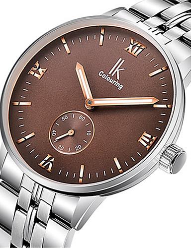 Pánské Módní hodinky mechanické hodinky Automatické natahování Voděodolné Svítící Slitina Kapela Stříbro