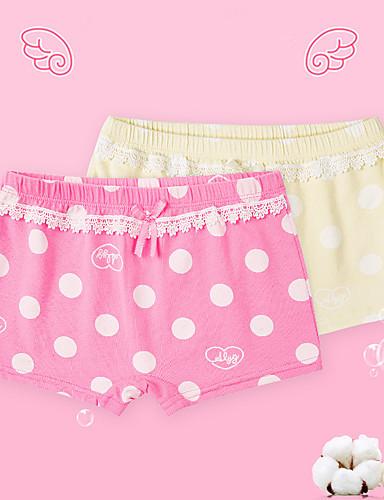 Mädchen Zeichentrick Druck Baumwolle Unterwäsche & Socken