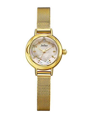 Dámské Módní hodinky Křemenný Voděodolné Slitina Kapela Černá Stříbro Zlatá Růžové zlato