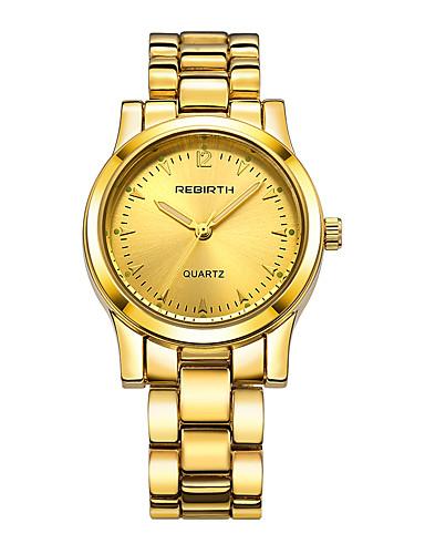 Dámské Módní hodinky čínština Křemenný Slitina Kapela Stříbro Zlatá