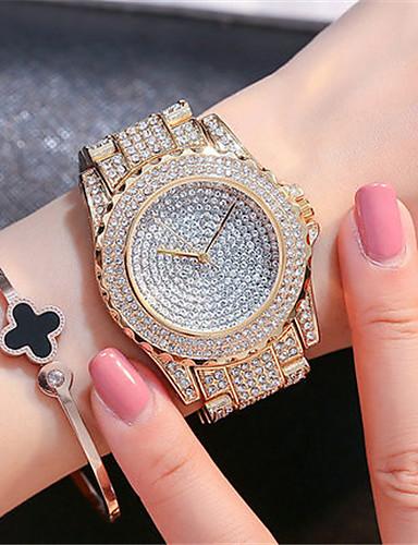 Dámské Módní hodinky japonština Křemenný Voděodolné Nerez Kapela Třpyt Elegantní Stříbro Zlatá Růžové zlato