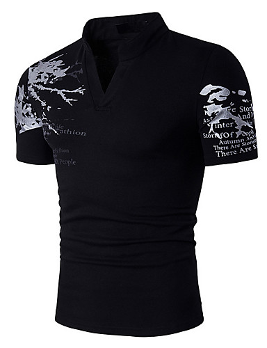 Men's Going out Casual T-shirt