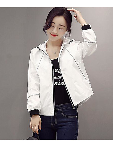 Women's Daily Casual Casual Spring Trench Coat