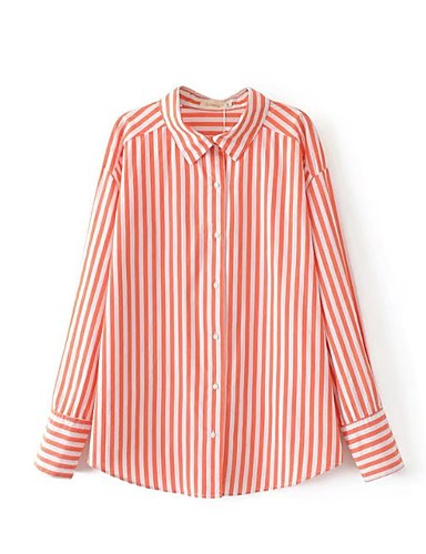 Women's Work Going out Daily Casual Cute Street chic Spring Fall Shirt