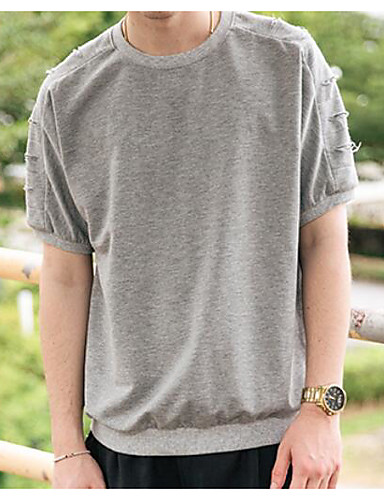 Men's Going out Daily Street chic Active Summer T-shirt