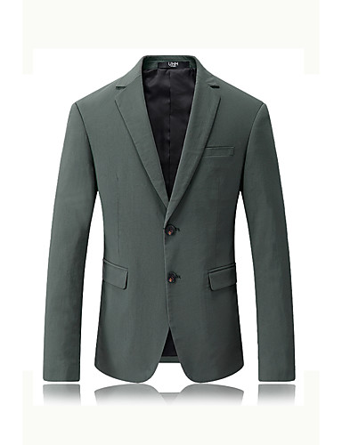 Men's Party Casual/Daily Work Casual Spring/Fall Blazer