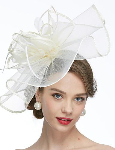 abordables Chapeau & coiffure-Filet Kentucky Derby Hat / Fascinators / Chapeaux avec 1 Mariage / Occasion spéciale Casque