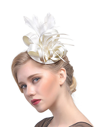 Women's Hat / Solid Color / Mesh Fabric Hair Clip
