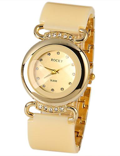 Mulheres Quartzo Relógio de Pulso Chinês imitação de diamante Metal Banda Brilhante Relógio simulado de diamantes Relógio Criativo Único
