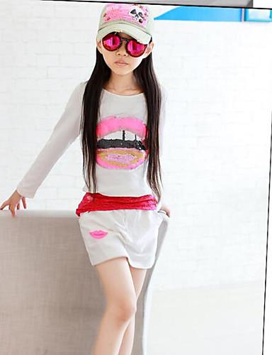 Girls' Color Block Sets,Others Summer Clothing Set
