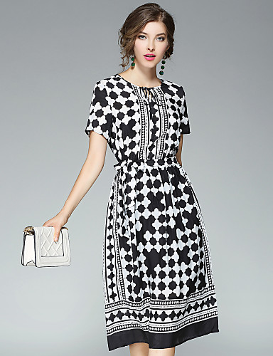Women's Going out Daily Street chic A Line Dress