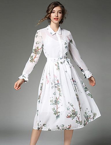 Maxlindy Women's Going out Daily Party Vintage Street chic Sophisticated A Line Dress
