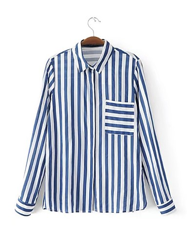Women's Holiday Going out Daily Casual Street chic Spring Fall Shirt
