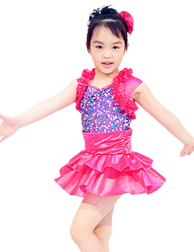 Ținute de Dans Copii Rochii & Fuste Performanță Satin