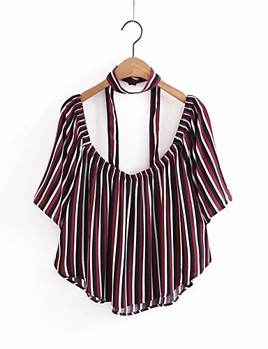 Women's Sports Daily Beach Active Sexy Summer Fall Blouse