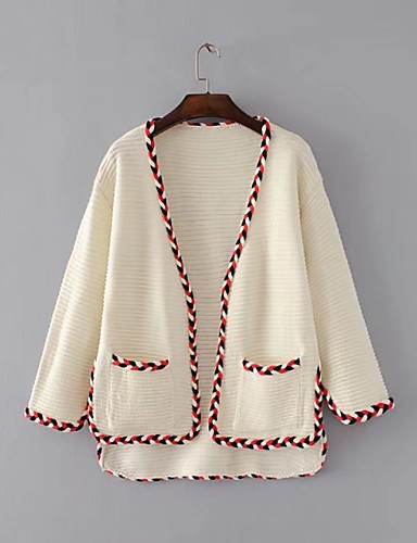 Women's Going out Daily Casual Street chic Regular Cardigan