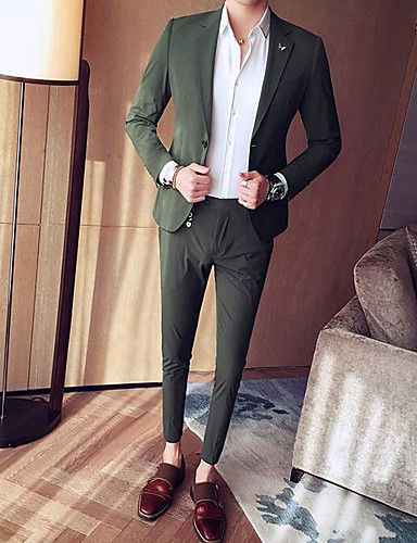 Men's Casual/Daily Casual All Seasons Suit