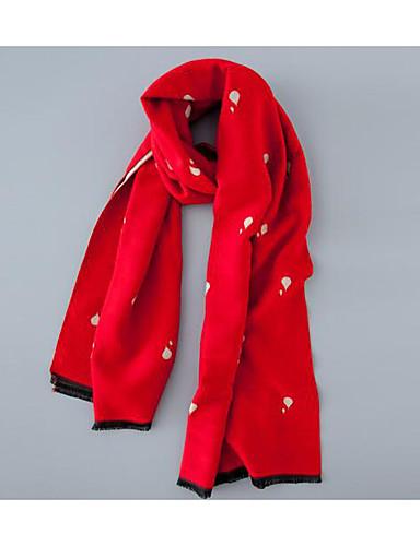 Women's Imitation Cashmere Rectangle Jacquard Winter Fall/Autumn