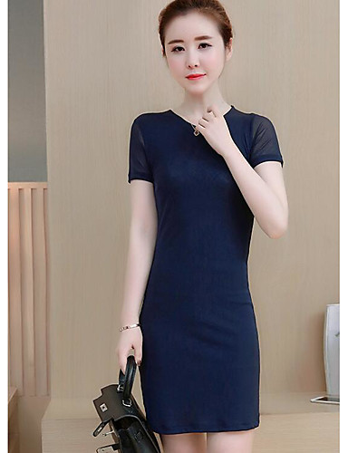 Women's Daily A Line Loose Dress