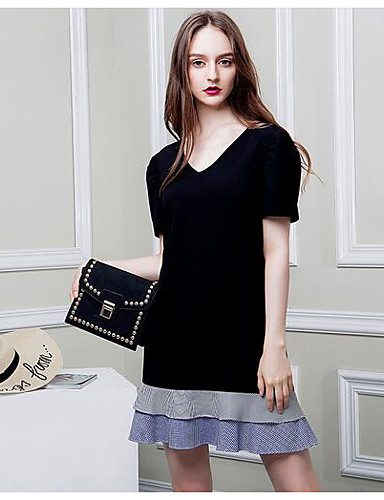 Women's Going out Daily Sexy Shift Dress